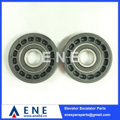 D76*22*6204 DEE4008754 Hot Sell KONE O&K Escalator Step Roller Escalator Spare Parts