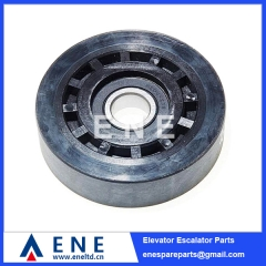 D100*25*6204 Hot Sell KONE O&K Escalator Step Roller Escalator Spare Parts
