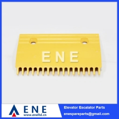 New Type 165MM Plastic Hitachi Escalator Comb Plate Escalator Parts