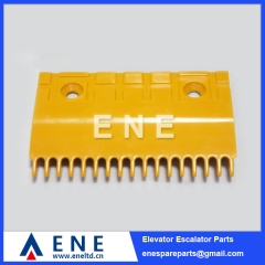 165MM Plastic Hitachi Escalator Comb Plate Escalator Parts
