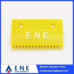 145MM 165MM Plastic Hitachi Escalator Comb Plate Escalator Parts