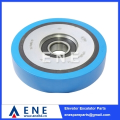 DEE3690079 KONE Escalator Step Roller Escalator Spare Parts