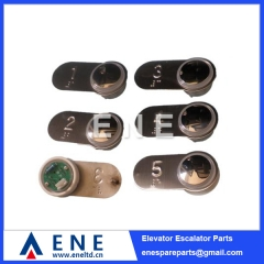 BST Hitachi Elevator Braille Push Button Elevator Lift Spare Parts