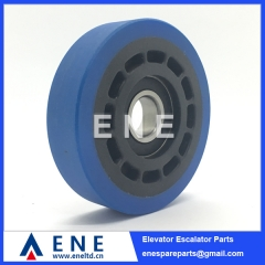 100*25*6204 Schindler Escalator Step Roller Escalator Spare Parts