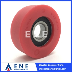 SCS241535 70x25x6204 Schindler Escalator Step Roller Escalator Spare Parts