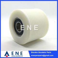 86x70x6204 Schindler Escalator V-Belt Roller Handrail Drive Roller 394007 Escalator Parts