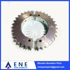 Schindler Escalator HUFF Sprocket Drive Gear Sprocket