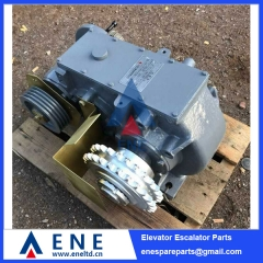 HR-D312-J4 Mitsubishi Escalator Motor Speed Reducer