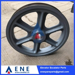 EMF-240 Mitsubishi Elevator Traction Sheave Drive Pulley